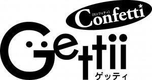 ゲッティ・カンフェティ版ロゴマーク